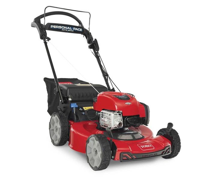 Toro electric start push mower 21464