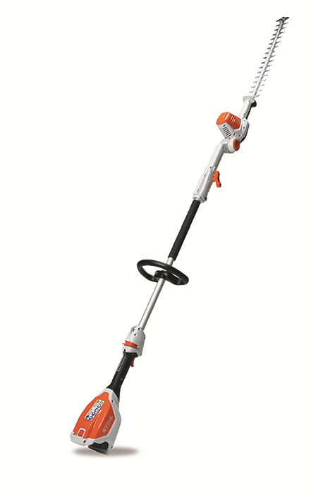 Stihl HLA 66 extended reach battery powered hedge trimmer fort wayne